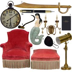This is a more Peter Pan themed style room, but a lot of the stuff could be pretty awesome. A giant clock that looks like a pocket watch? Inspiration For Kids, Design Inspiration, Nursery Room, Nursery Ideas, Bedroom Ideas, Neverland Nursery, Steampunk Diy, Victorian Steampunk, Baby Boy Rooms