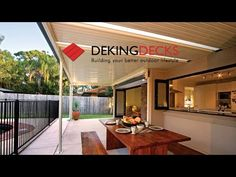 Patio Roofing Brisbane - Insulated and non Insulated Installation by DeKing Decks