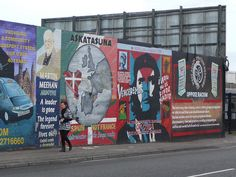 Peace Wall, Belfast Ireland- Black Taxi Tour is definitely worth it!
