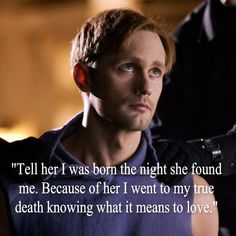 True Blood Eric Northman-favorite season ever when Eric loses his memory! Serie True Blood, Joe Manganiello True Blood, True Blood Quotes, Vampire Diaries, Eric Northman True Blood, Skarsgard Family, Alexander Skarsgard, Best Shows Ever, Best Tv