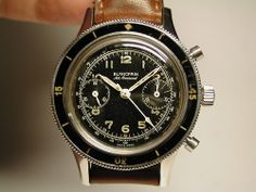 Stunning Vintage Blancpain Air Command Chronograph In Stainless Steel :: omegaforums