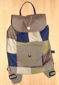 keywoman sews: backpack(σακίδιο πλάτης)