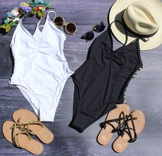 Malvados braided ICON FLORENCE sandals with a black & white one piece suit, sunglasses, flower crown & a fedora hat!  #bikini #bathingsuit #malvados #sandals #flipflops #summer #tan #beach #glow #babes #fitness #gym #fashion #love #sunset #water #pool #local #model #swim #beach #ocean #fun #colour #lspace #maaji #vitamina #friends #selfie #hot #weather #sand #shells #pineapple #sunglasses #flowers #inspo #happy #young #motivation #fit #photoshoot #flats #swimwear