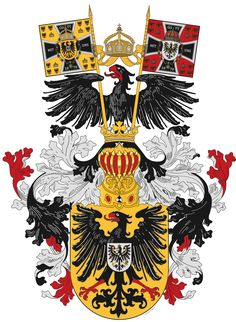 Coat of arms of Germany German Symbols, German Tattoo, Cute Tiny Tattoos, Visiting Card Design, Arm Art, Banner, Family Crest, Ex Libris, Dark Ages