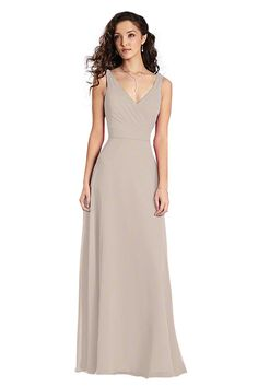 Shop Alfred Angelo Bridesmaid Dress - 7359 L in Chiffon--cashmere