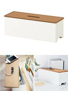 Boîte pour cables IKEA Kvissle