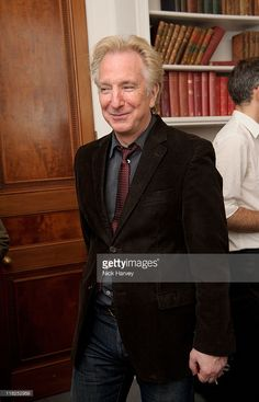 "Alan Rickman attends ""Independent Voices 5x15: Hacked Off with Free Speech"" at The Royal Institute of Great Britain on July 5, 2011 in London, England."
