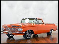 1959 Chevrolet El Camino Resto Mod 350/400 HP, 4-Speed  Houston 2014 April 10-12, 2014