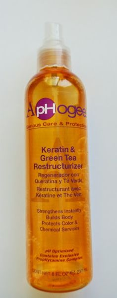 This product is amazing for damaged hair.  It's a heat activated keratin treatment that makes straw-like hair feel soft again.