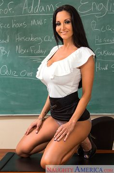 Hot For Teacher ❤Ava Addams Sexy Older Women, Sexy Women, Hello Teacher, Bad Teacher, Ava Adams, University Girl, Teachers Pet, School Uniform Girls, Women Lingerie