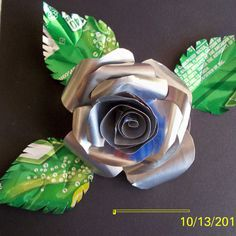 Aluminum can rose step by step!