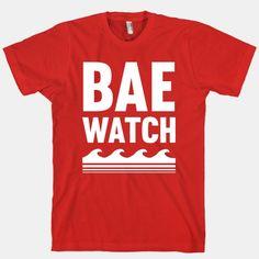 Bae Watch #funny #style #summer #bae #babe #beach #parody #awesome #trendy #fashion