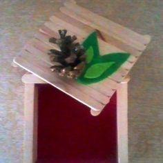 Popsicle stick box