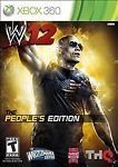 WWE '12 -- The People's Edition (Microsoft Xbox 360, 2011)
