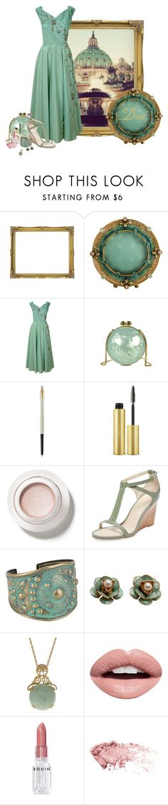 """Inspired: St. Peter's Basilica"" by duci ❤ liked on Polyvore featuring Jay Strongwater, Lancôme, AERIN, Seychelles, Forever 21, Nevermind and Rodin"
