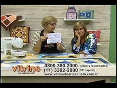 Caminho de Mesa Cata Vento com Ana Cosentino - Vitrine do Artesanato na TV - YouTube