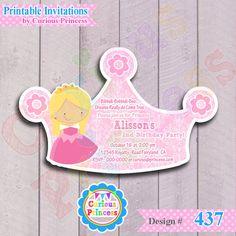 437 invitacion digital de la princesa por CuriousPrincessParty