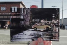 "Including a shot of Emma's famous Volkswagen Beetle. | A ""Once Upon A Time"" Fan Recreated The Series In The Coolest Way"