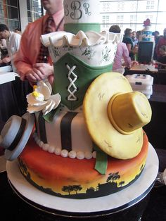 'Gone with the Wind' cake by pompomflipflop, via Flickr