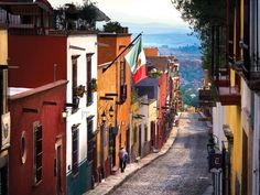 Like a miniature town created out of passion and perseverance, San Miguel de Allende is a sight to explore with a keen eye. Shrink down and check in to the Rosewood San Miguel de Allende. Mexico Resorts, Mexico Vacation, Mexico Travel, Vacation Spots, Italy Vacation, Mexico Honeymoon, Vacation Places, Vacations, All Inclusive Honeymoon Resorts