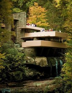 The waterfall house...pure serenity!