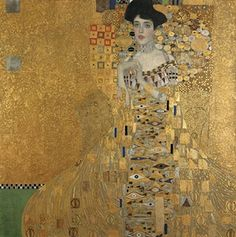 Klimt's Portrait of Adele Bloch-Bauer I. Paintings like this don't come on the market very often, for Klimt's jewelled sarcophagus-like portrait of one of his many Jewish patrons in fin de siecle Vienna hung in that city's Belvedere museum until it was prised out of this major public collection by law. For it had been seized by the Nazis, then wrongly kept in the gallery through the post-war era until a court awarded it to Bloch-Bauer's heirs, who sold it. This is a treasure.