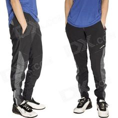 Acacia 0297003 Men's Stylish Cozy Dacron   Spandex Cycling Pants - Black (L) Price: $26.60