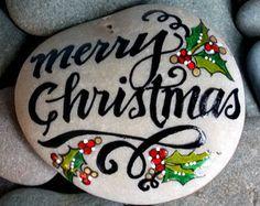 rocas pintadas / familia / pintado piedras son por LoveFromCapeCod