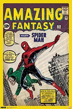 Trends International RP5700 SpiderMan Cover Collectors Edition Wall Poster 24 x 36 *** See this great product.Note:It is affiliate link to Amazon.