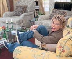See How Joan Rivers Transformed This Connecticut Country Home Dark Hallway, Joan Rivers, Celebrity Houses, Architectural Digest, Modern Luxury, Connecticut, Bean Bag Chair, Beautiful Homes, Architecture