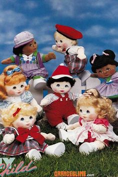 My Child dolls - 15 Toys From The '80s You Might Have Forgotten About
