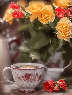 So refreshing is the love of Jesus & a cup of Tea! Coffee Love, Coffee Break, Coffee Cups, Tea Cups, Coffee Images, Coffee Pictures, Dank Gifs, Tea Gif, Good Morning Coffee Gif
