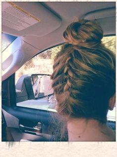 braid with a bun