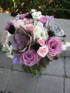 Lavender and white wedding flowers, Vermont Wedding Flowers in Charlotte, #FloralArtistry, floralartvt.com #succulents