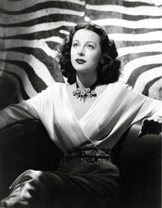 Hedy Lamarr, photo by Bert Six