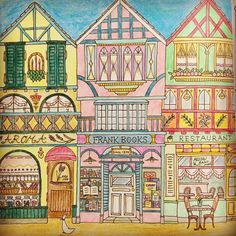 #romanticcountry #cocot 出会いの物語、始めてみました。 #ロマンティックカントリー #cocotの島々と出会いの物語 #eriy #color #colour #coloringbook #sakura #coloringforadults #クーピーペンシル #塗り絵 #大人の塗り絵 #コロリアージュ