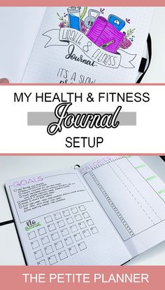 I made a separate journal for my health and fitness. In these spreads I set and track goals, track my daily calories, and plan my meals and workouts. Check out my May Health and Fitness Journal Setup Fitness Journal, Fitness Planner, Calorie Tracker, Printable Workouts, Monthly Workouts, Bullet Journal How To Start A, Extreme Workouts, Heath And Fitness, Videos Tumblr