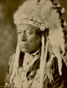 Pimotat (aka Pimontal, aka The Walker) from the File Hills Reserve in Saskatchewan - Cree - 1919