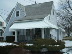 Porch Awning From Fairview Home Improvement In Cleveland Ohio