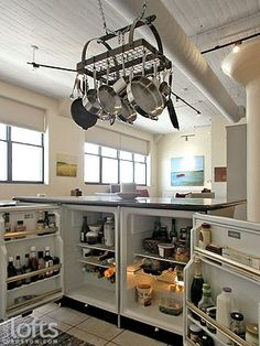 Creative Kitchen Island...