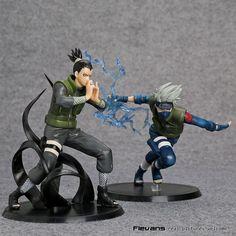 Anime Naruto Action Figure Shikamaru Hatake Kakashi Anime Figure Naruto Shippuden Movie Figure Toys 2set bundle