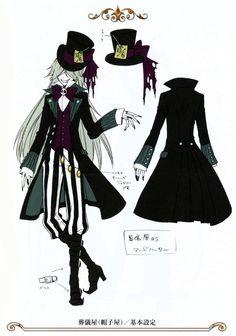 Undertaker - Black Butler - Kuroshitsuji - Funtom's Candy : Photo