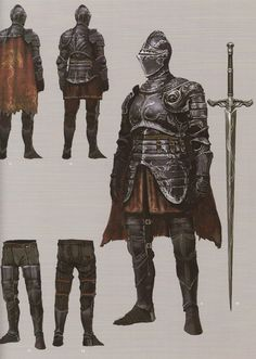 The armor of a commander of the Hunt, known as Huntmasters, they are experts in tracking and doing battle with beasts like Drakes and their ilk