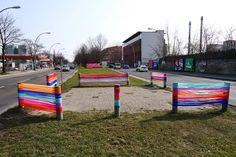 Converse street art Just Add Color