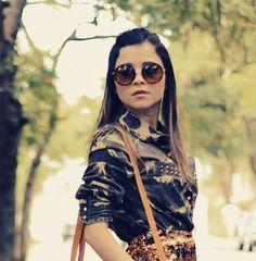 Blog da Lê, New Round Fashion Designer Womens Sunglasses 8692