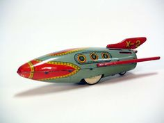 vintage toys | More Great Vintage Japanese Tin Space Toys 1950′s – 1960′s | The ...