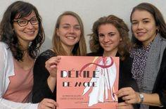 Finistère - Marjorie Cadoret, Mathilde Provost, Mélanie Derriennic et Pauline Lachal ont  choisi Octobre rose, le mois de la mobilisation contre le cancer du sein,  pour organiser leur événement.