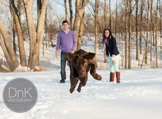 Dog Engagement Session - DnK Photography 9 Winter Engagement Photos With Dog, Engagement Session, Couple Photos, Dogs, Photography, Animals, Image, Couple Shots, Photograph