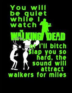 Daryl Dixon Funny black Tshirt with funny walking dead zombie  saying by Niwid, $15.00