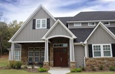Custom home built in the Craftsman style ... from Trent Williams Construction, Tyler, Texas